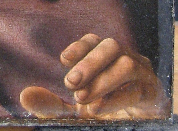 11. Detail hand