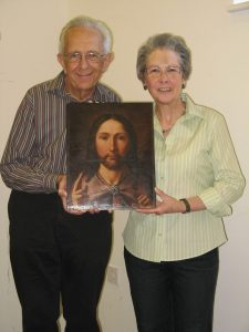 The late Canon Rev. Bill Matthews & wife Jean